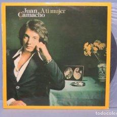 Vinyl-Schallplatten - LP. JUAN CAMACHO. A TI MUJER - 138718770