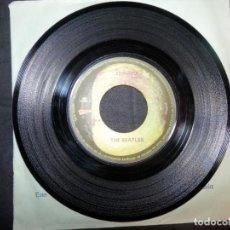Discos de vinilo: THE BEATLES  DÉJALO SER TÚ SABES MI NOMBRE 7 PULGADAS 45 RPM SINGLE. Lote 138724038