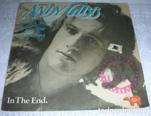 ANDY GIBB – I JUST WANT TO BE YOUR EVERYTHING / IN THE END - SINGLE1977 (Música - Discos - Singles Vinilo - Pop - Rock - Extranjero de los 70)
