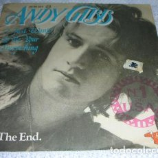 Discos de vinilo: ANDY GIBB – I JUST WANT TO BE YOUR EVERYTHING / IN THE END - SINGLE1977. Lote 138731298