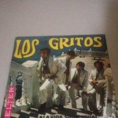 Discos de vinilo: LOS GRITOS. Lote 138735869