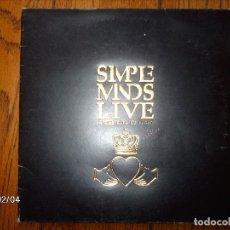 Discos de vinilo: SIMPLE MINDS - LIVE IN THE CITY OF LIGHT - LEER DESCRIPCIÓN . Lote 138745582