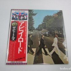 Discos de vinilo: VINILO EDICIÓN JAPONESA DEL LP DE THE BEATLES ABBEY ROAD. Lote 138752370