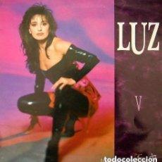 Discos de vinilo: LUZ CASAL - V - LP HISPAVOX SPAIN 1989. Lote 138752734