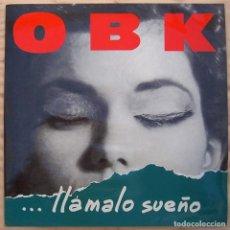 Discos de vinilo: OBK_LLAMALO SUEÑO DEPECHE MODE_VINILO LP 12'' EDICION ESPAÑOLA_1991 . Lote 138754046