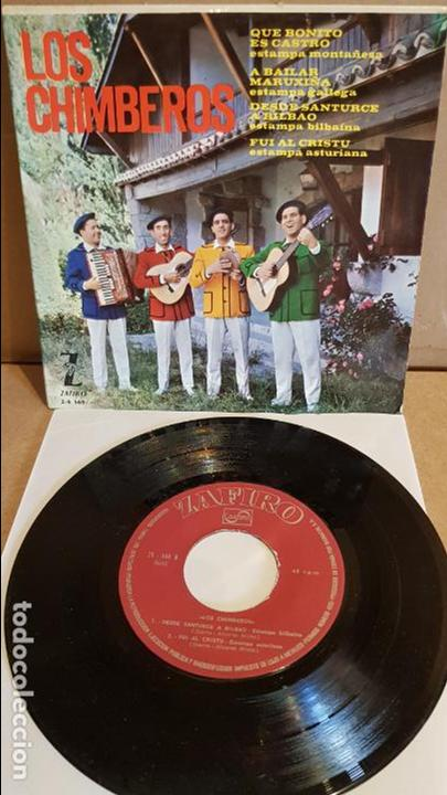 LOS CHIMBEROS / QUE BONITO ES CASTRO / EP - ZAFIRO - 1964 / MBC. ***/*** (Música - Discos de Vinilo - EPs - Country y Folk)