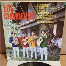 Discos de vinilo: LOS CHIMBEROS / QUE BONITO ES CASTRO / EP - ZAFIRO - 1964 / MBC. ***/***. Lote 138757690