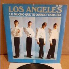 Discos de vinilo: LOS ANGELES / LO MUCHO QUE TE QUIERO. / SINGLE - HISPAVOX - 1969 / MBC. ***/***. Lote 138767934