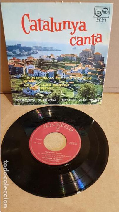 POLIFÓNICA DE GERONA / CATALUNYA CANTA / JOSÉ VIADER / EP - RCA-VICTOR - 1967 / MBC. ***/*** (Música - Discos de Vinilo - EPs - Country y Folk)