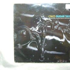 Disques de vinyle: OMD SUGAR TAX_VINILO LP 12'' EDICION ESPAÑOLA_VIRGIN 1991. Lote 138776862