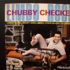 Discos de vinilo: CHUBBY CHECKER- LIMBO ROCK EP.. Lote 138778650