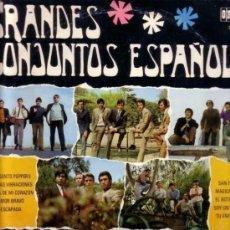 Discos de vinilo: GRANDES CONJUNTOS ESPAÑOLES - LONE STAR, LOS MUSTANG,LOS SALVAJES, LOS STAR.... MINI LP, 10 PULGADAS. Lote 138785218