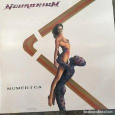 Discos de vinilo: NEURONIUM - NUMERICA . LP . 1989 DRO . COMO NUEVO . Lote 138789534