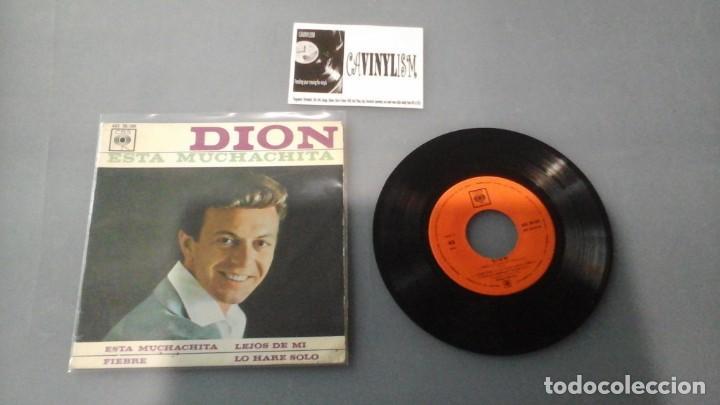 DION ?– ESTA MUCHACHITA / GO AWAY LITTLE GIRL / FEVER / GONNA MAKE IT ALONE EP: CBS ?– AGS 20.109 (Música - Discos de Vinilo - EPs - Rock & Roll)
