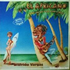 Discos de vinilo: WILFRIDO VARGAS – EL AFRICANO (ESPAÑA, 1985). Lote 138829278