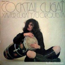 Discos de vinilo: XAVIER CUGAT AND HIS ORCHESTRA – COCKTAIL CUGAT (ESPAÑA, 1991). Lote 138831610