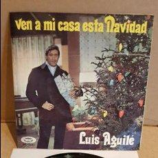 Discos de vinilo: LUIS AGUILÉ / VEN A MI CASA ESTA NAVIDAD / EP-GATEFOLD - MOVIE PLAY - 1969 / MBC. ***/***. Lote 138842462