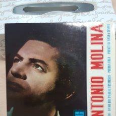 Discos de vinilo: EP ANTONIO MOLINA EN SILENCIO... DSOE 16.669 1965. Lote 138845389