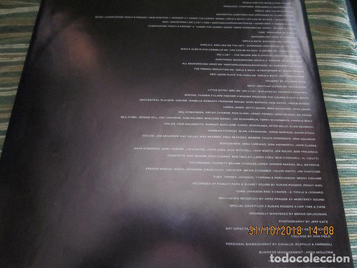 Discos de vinilo: PRINCE - PARADE LP - ORIGINAL ALEMAN - WARNER 1986 GATEFOLD CON FUNDA INT. - MUY NUEVO (5) - Foto 10 - 138846638