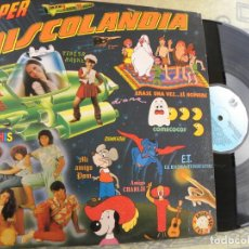 Discos de vinilo: SUPER DISCOLANDIA -DOBLE LP : PARCHIS, REGALIZ, POPITOS ,WONDER DOG ETC. BUEN ESTADO. Lote 138846914