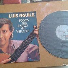 Discos de vinilo: LUIS AGUILE TODOS MIS EXITOS DEL VERANO . Lote 138847038