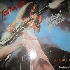 Discos de vinilo: TED NUGENT - WEEKEND WARRIORS LP - EDICION ESPAÑOLA - EPIC RECORDS 1978 -. Lote 151086774