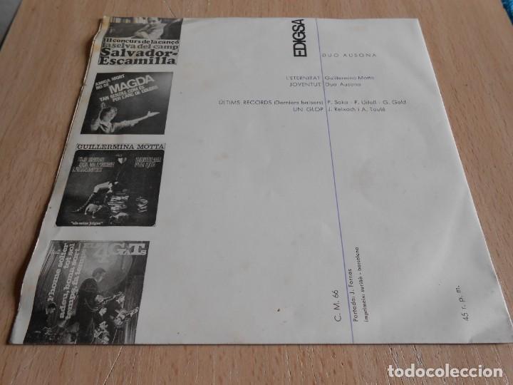 Discos de vinilo: DUO AUSONA, EP, L´ETERNITAT + 3, AÑO 1965 - Foto 2 - 138852762