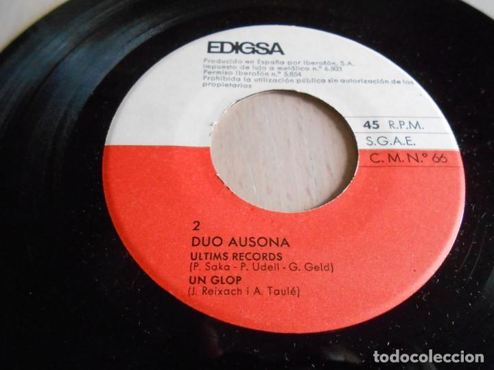 Discos de vinilo: DUO AUSONA, EP, L´ETERNITAT + 3, AÑO 1965 - Foto 5 - 138852762