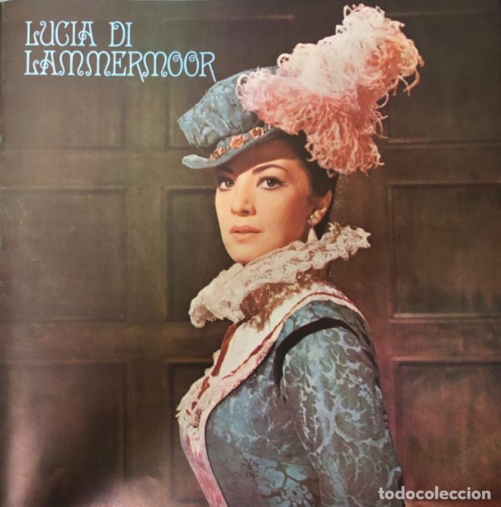 Discos de vinilo: DONIZETI. LUCIA DI LAMMERMOOR RCA ITALIANA OPERA ORCHESTRA AND CHORUS GEORGES PRETRE - Foto 2 - 138857578