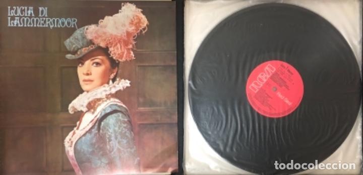 Discos de vinilo: DONIZETI. LUCIA DI LAMMERMOOR RCA ITALIANA OPERA ORCHESTRA AND CHORUS GEORGES PRETRE - Foto 3 - 138857578