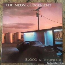 Discos de vinilo: THE NEON JUDGEMENT - BLOOD & THUNDER . LP . 1989 NUEVOS MEDIOS . Lote 138862858