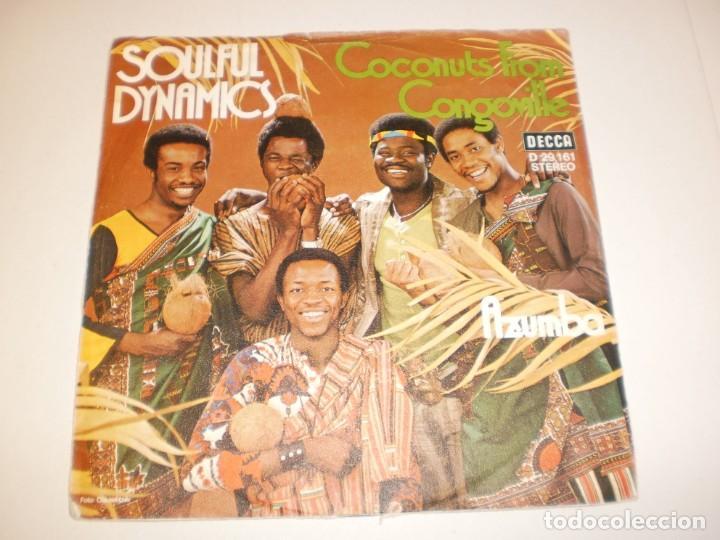 SINGLE SOULFUL DYNAMICS COCONUTS FROM CONGOVILLE. AZUMBA DECCA GERMANY (PROBADO Y BIEN, SEMINUEVO) (Música - Discos - Singles Vinilo - Pop - Rock - Extranjero de los 70)