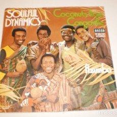 Discos de vinilo: SINGLE SOULFUL DYNAMICS COCONUTS FROM CONGOVILLE. AZUMBA DECCA GERMANY (PROBADO Y BIEN, SEMINUEVO). Lote 138863754