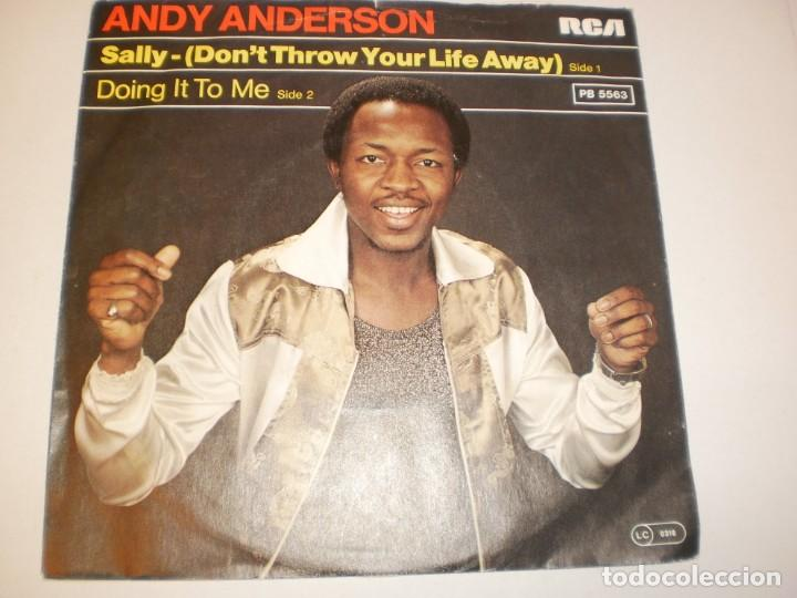 Discos de vinilo: single andy anderson. sally. doing it to me. rca 1978 germany (disco probado y bien, seminuevo) - Foto 2 - 138864046