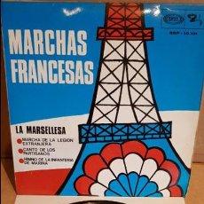 Discos de vinilo: MARCHAS FRANCESAS / LA MARSELLESA / EP - BARCLAY - 1968 / MBC. ***/***. Lote 138864154