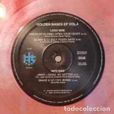 Discos de vinilo: GOLDEN BASES EP VOL 4. Lote 138867450