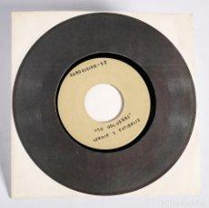 Discos de vinilo: EUROVISIÓN. TU VOLVERAS- SERGIO Y ESTÍBALIZ. DISCO PROMOCIONAL. GRABADO SOLO UNA CARA. 1975. Lote 138868278