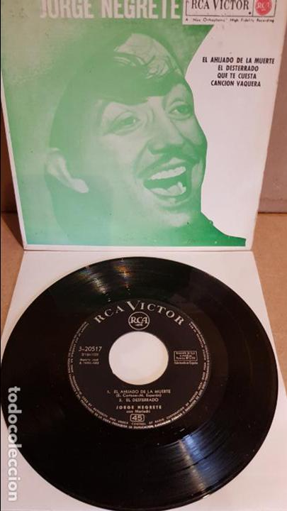JORGE NEGRETE / EL AHIJADO DE LA MUERTE / EP - RCA-VICTOR-1962 / MBC. ***/*** (Música - Discos de Vinilo - EPs - Grupos y Solistas de latinoamérica)