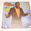 Discos de vinilo: SINGLE GEORGE MC CRAE. SING A HAPPY SONG. I NEED SOMEBODY LIKE YOU. RCA 1975 GERMANY (PROBADO). Lote 138881714