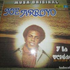 Discos de vinilo: JOE ARROYO - MUSA ORIGINAL LP - ORIGINAL COLOMBIA - DISCOS FUENTES 1986 - STEREO - RARO Y DIFICIL . Lote 138887870