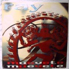 Discos de vinilo: RAY_MUEVETE_VINILO MAXI SINGLE 12'' EDICION ESPAÑOLA_1994 PRECINTADO!!!!. Lote 138903486