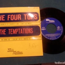 Discos de vinilo: THE FOUR TOPS - STANDING IN THE...+ 1 / THE TEMPTATIONS - I KNOW...+ 1 - EP 4 TEMAS - RCA 1967. Lote 138904694