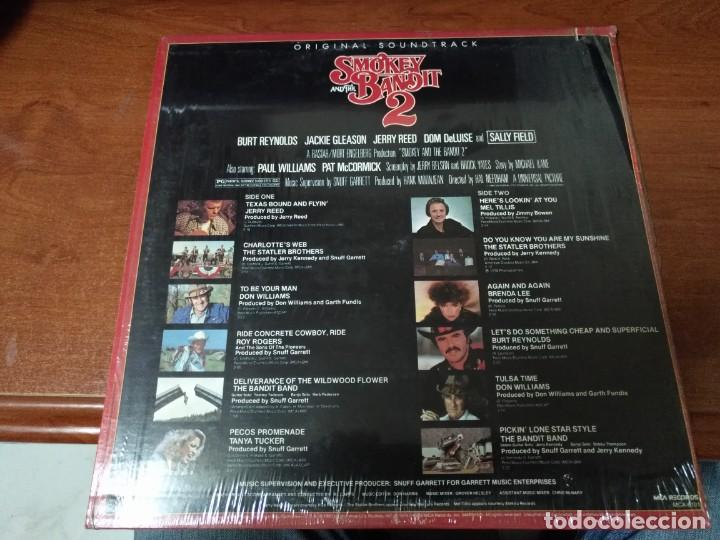 Discos de vinilo: VARIOS - SMOKEY AND THE BANDIT 2 - BSO - LP - Foto 2 - 138906218