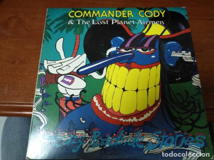 COMMANDER CODY & HIS LOST PLANET AIRMEN SLEAZY ROADSIDE STORIES (Música - Discos - LP Vinilo - Rock & Roll)