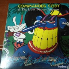 Discos de vinilo: COMMANDER CODY & HIS LOST PLANET AIRMEN SLEAZY ROADSIDE STORIES. Lote 138913022