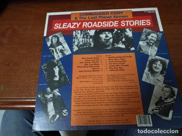 Discos de vinilo: Commander Cody & His Lost Planet Airmen Sleazy Roadside Stories - Foto 2 - 138913022