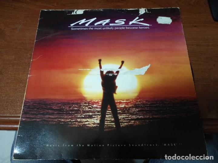 MASK - BSO LP (Música - Discos - LP Vinilo - Bandas Sonoras y Música de Actores )