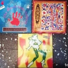 Discos de vinilo: LOTE 3 VINILOS MAXISINGLE 45 DE MUSICA DANCE . - CONTRASEÑA - 1992 Y 1994. Lote 138913918