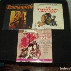 Discos de vinilo: LOTE 5 EPS Y SINGLES BANDAS SONORAS B.S.O SOUNTRACK. Lote 138930166