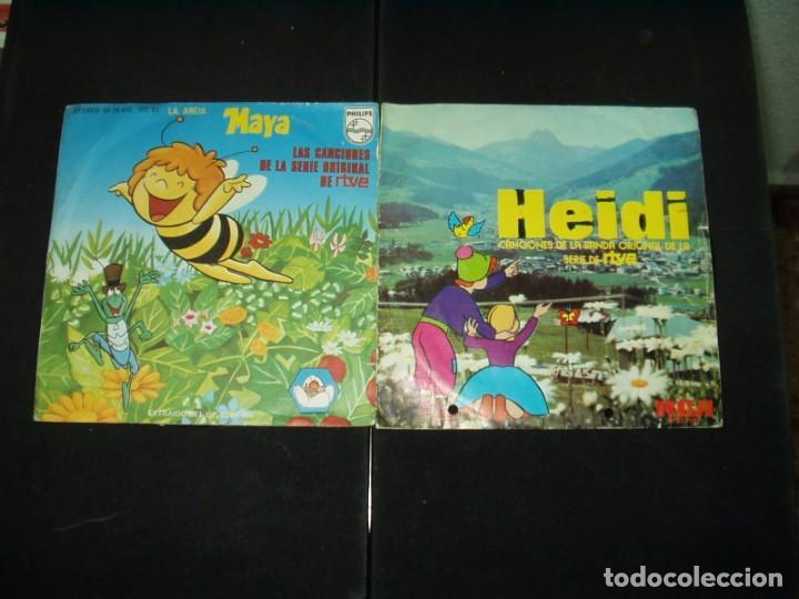 Discos de vinilo: LOTE 6 SINGLES SERIES INFANTILES TELEVISION 70/80s - Foto 2 - 138931250